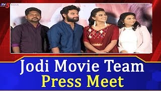 Jodi Movie Team Press Meet | Aadi | Shraddha Srinath