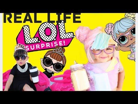 Top 10 Real Life Instagram LOL Surprise Dolls!