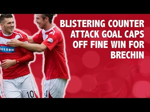 Blistering counter attack goal caps off fine win for Brechin