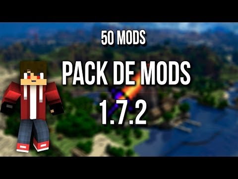 PACK DE MODS 1.7.2//MINECRAFT// 50 MODS