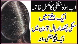 How To Get Rid Dandruff  | Hair Care Tips In Urdu |  Baalon Ki KHushki  | Silky Hair Tips