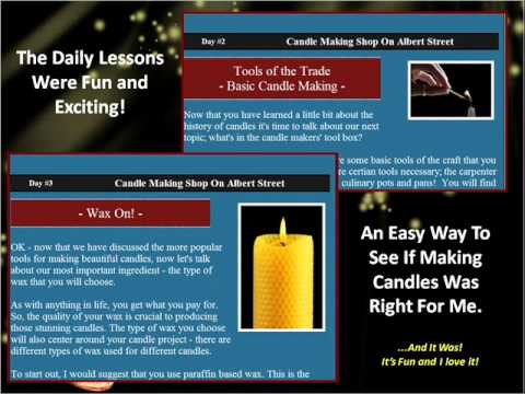 Easy Candle Making