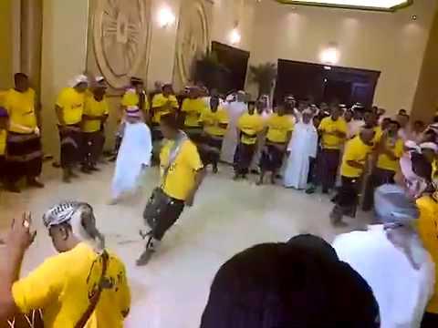 فرقة العمودي - شرح دحيفة رقص حضرمي مزمار