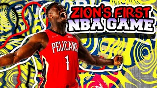 Did Zion Williamson ACTUALLY play well??? New Orleans Pelicans vs Atlanta Hawks