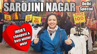 Cheap and Stylish Winter Fashion | Sarojini Nagar Shopping | Delhi