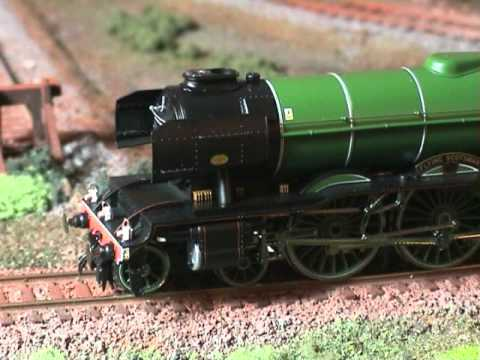 YouChoos Hornby Flying Scotsman NRM DCC Sound/Smoke/Lights