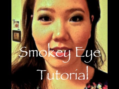Smokey Eye Tutorial (great for monolids)