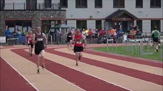 Jerome Foley (Farranfore & Maine Valley) sets M50 400m Munster Record 60.29 Sec