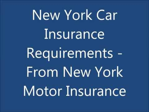 New York Car Insurance Requirements