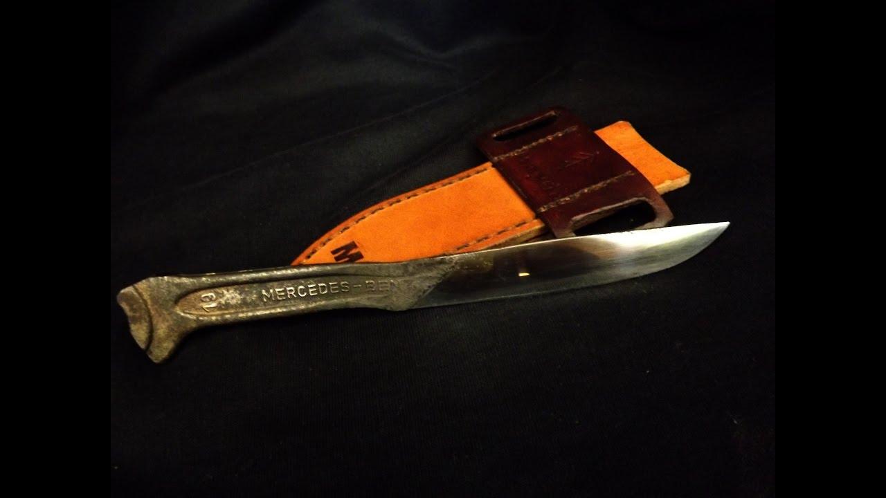 Ножи из гаечных ключей своими руками 49