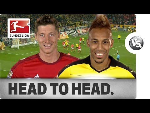 Lewandowski vs. Aubameyang - Goal-Getters Go Head-to-Head