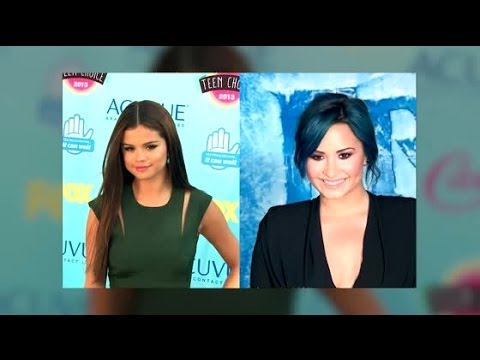 Selena Gomez Goes to Support Demi Lovato's Speech at Rehab | Splash News TV | Splash News TV