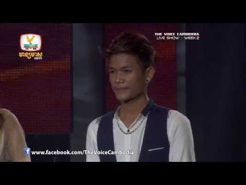 The Voice Cambodia - Live Show 2 - Smors Bong Oun Slab Ey? - But Seyha