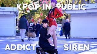 [KPOP IN PUBLIC CHALLENGE SPAIN] ADDICT + SIREN Sunmi Dance Cover by KIH