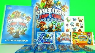 Skylanders Trap Team Collectors Cards Starter Pack Review & Pack Opening, Topps
