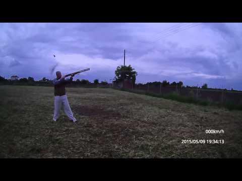 MP-155 Baikal 12/76 стрельба , удлинитель магазина +5
