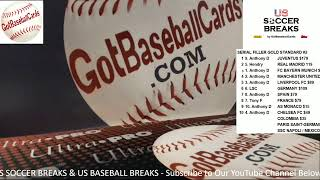 US BREAKS LIVE - GOTBASEBALLCARDS