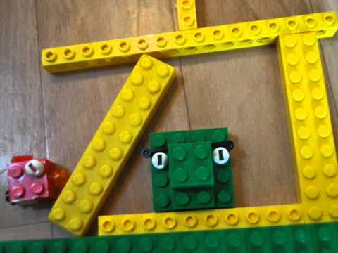 LEGO Angry Birds stopmotion test