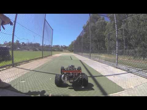 2 Stroke Baja 5B 30.5cc RC Buggy - GoPro Hero 3