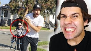 THIS WOMAN HURT HIM!! (PAINFUL SURPRISE)
