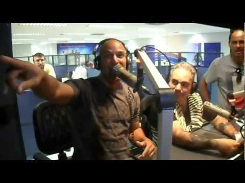 Tony Garcia no Programa Holiday - Clube FM Brasília