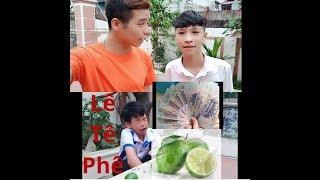 Nam Đen TV : thử thách ăn chanh. ! Eat lemon