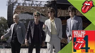 The Rolling Stones Video - Can't You Hear Me Knocking - The Rolling Stones check out the Adelaide Oval
