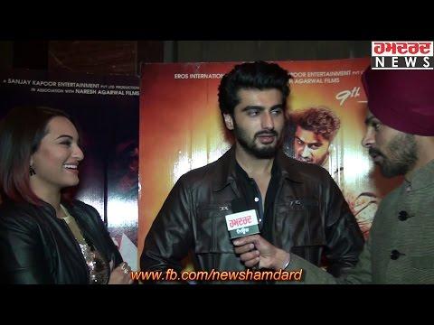 Exclusive Interview with Sonakshi Sinha and Arjun Kapoor | Film Tevar | Hamdard Tv