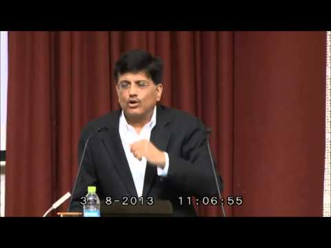 Mr. Piyush Goyal - Present Minister Of Power - Government Of India