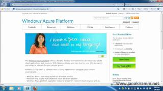 Getting Started with Microsoft Windows Azure Platform
