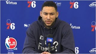 Ben Simmons has plans to 'expand' his game next season | 2019 NBA Playoffs