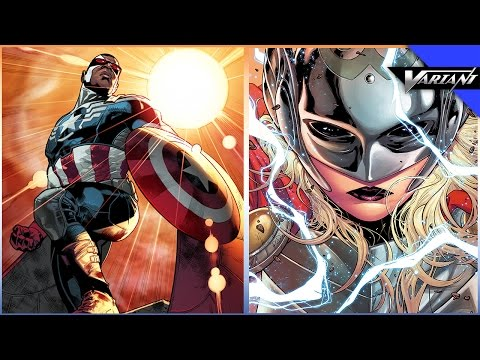 One Shot: Thor Is A Woman & Falcon Is Captain America!