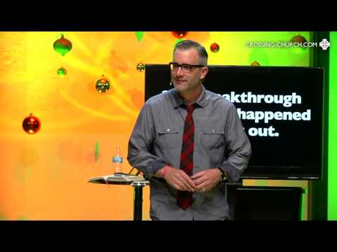 Break Out Christmas - Wk 1 | The Crossing Church, Elk River, MN | Pastor Eric Dykstra