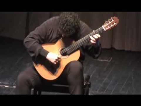 Rare Classical Guitar Video: Aniello Desiderio - Koyunbaba