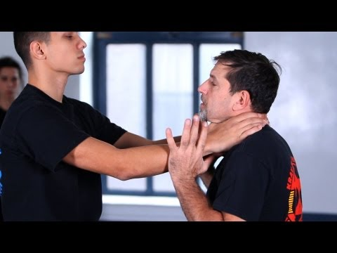 Krav Maga Defense against Choke from the Front | Krav Maga Techniques Image 1