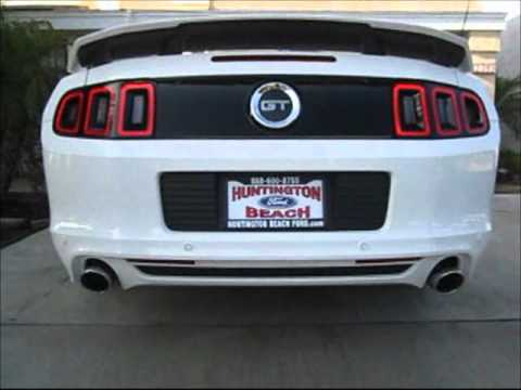 2013 Mustang 5.0 with Roush Racing Axle Back Exhaust