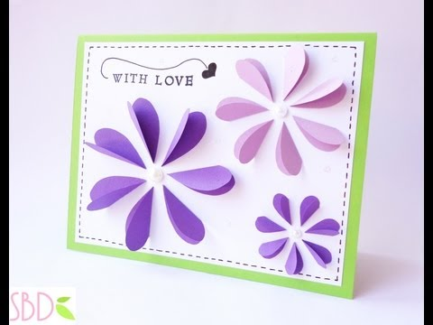 Biglietto Pop Flowers Pop Flowers Card