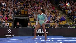 Simone Biles On Vault At U.S. Gymnastics Championships | Summer Champions Series