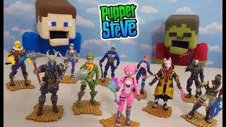 FORTNITE Toys COMPLETE Action Figures Solo & Squad Mode Jazwares Collection 2018