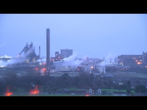 Port Talbot - Crushing blow for the steel industry