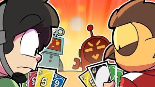 Vanoss & I versus Al Dusty & Al Pudding in UNO!