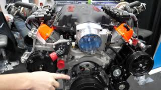 1500HP Katech Twin Turbo 427 LT5 Motor at SEMA 2019