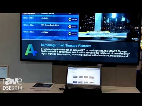 DSE 2014: Capital Networks Shows Audience Platform For Samsung Smart Signage Platform