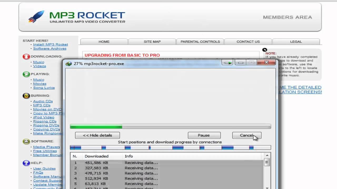 MP3 Rocket - Free Download