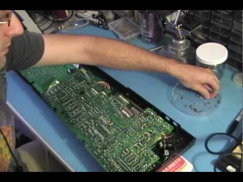 Replacing the LCD Panel in a Casio CZ-101