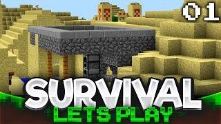 Village & Temple Looting | Minecraft Survival Let's Play | Episode 1