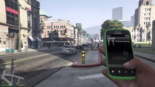 GTA 5 Cell Phone Cheats - Spawn Rapid GT