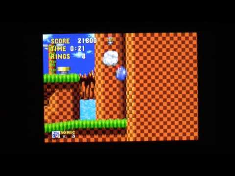 Sonic The Hedgehog 3D Nintendo 3DS Gameplay