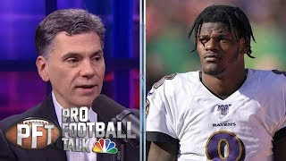NFL Week 14 Superlatives: Ravens' D outplays Lamar Jackson | Pro Football Talk | NBC Sports