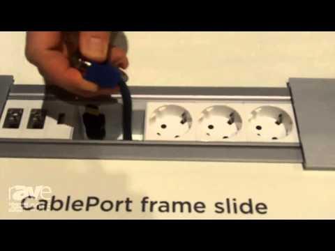 ISE 2015: Kindermann Details CablePort Frame Slide and Cable Caddy